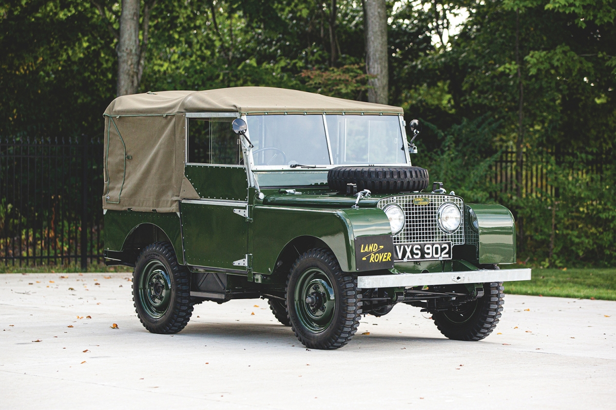 """""""Car Zero"""" from Land Rover Reborn's Series I project"""