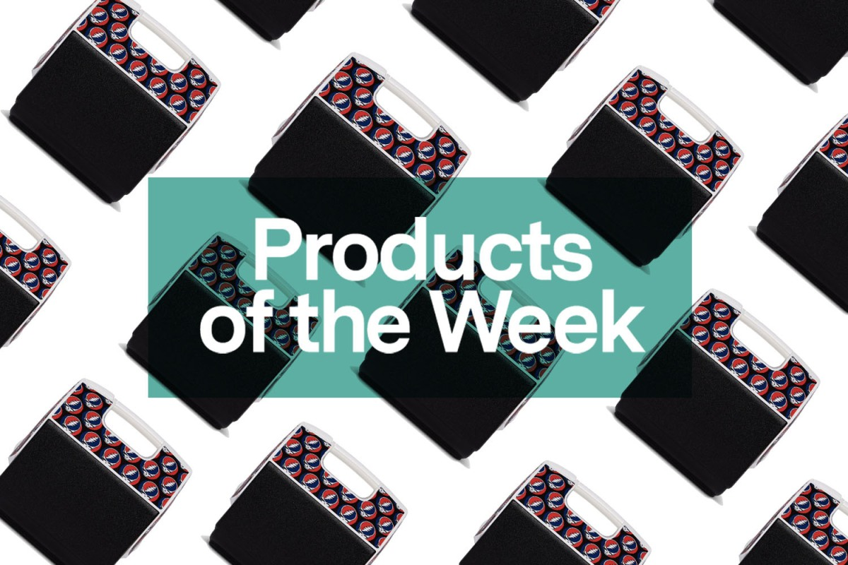 Products of the Week: Artist Bandanas, Grateful Dead Coolers and a Collapsible Guitar