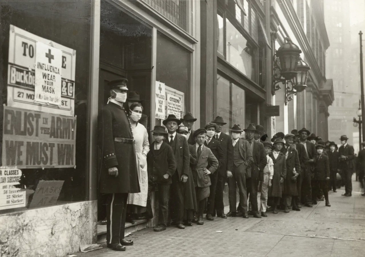 Spanish Flu, CA, 1918