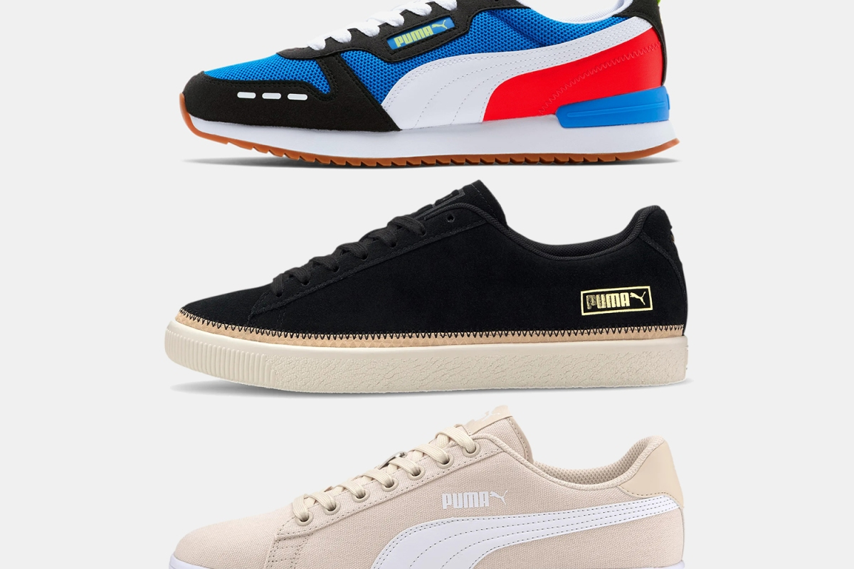 Consider the Puma Sneaker, Especially When They're Up to 70% Off