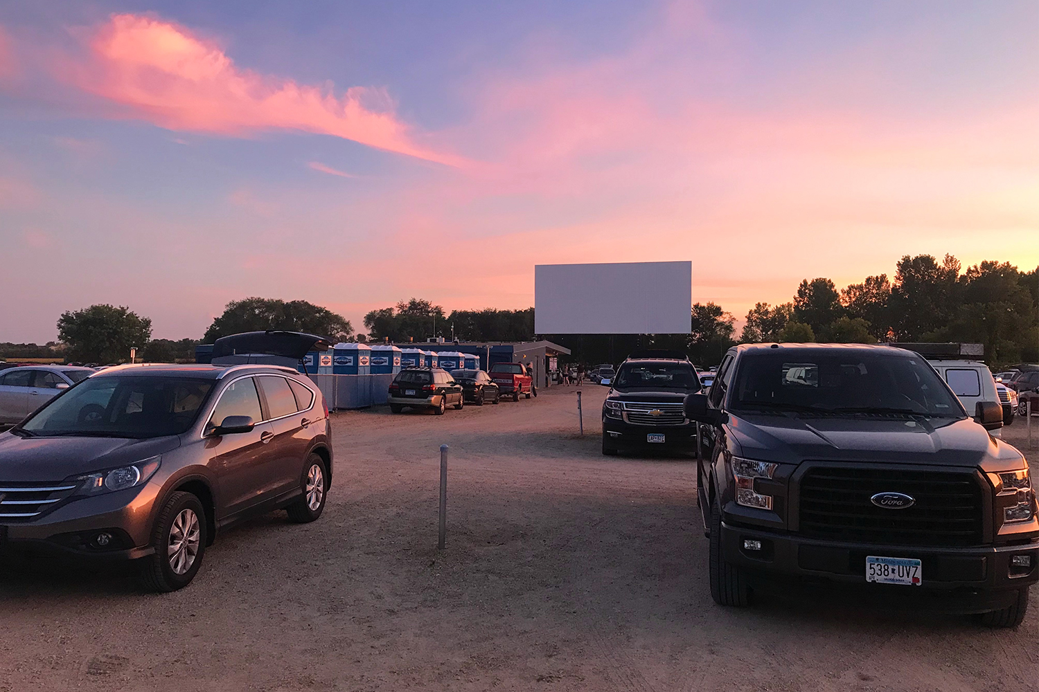 Vali-Hi Drive-In Movie Theater in Lake Elmo, Minnesota
