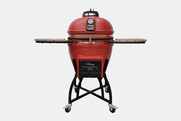 Vision Grills Kamado Ceramic grill at Home Depot