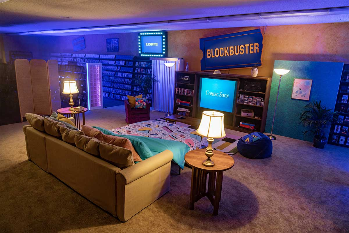 Blockbuster rental on Airbnb in Bend, Oregon
