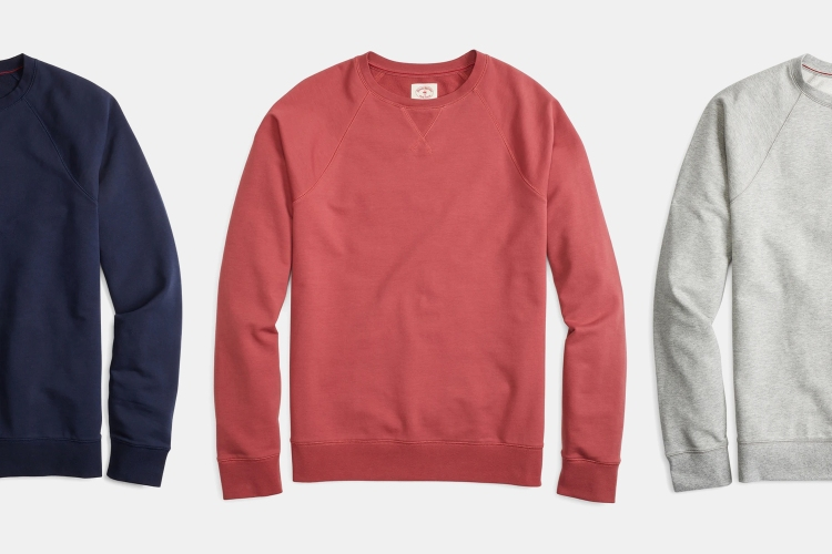 Deal: Crewneck Sweatshirt Season Is in Our Sights. This One is Only $40.