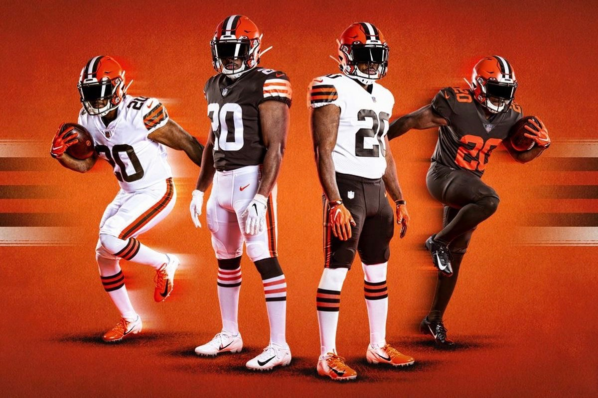 browns uniforms 2020