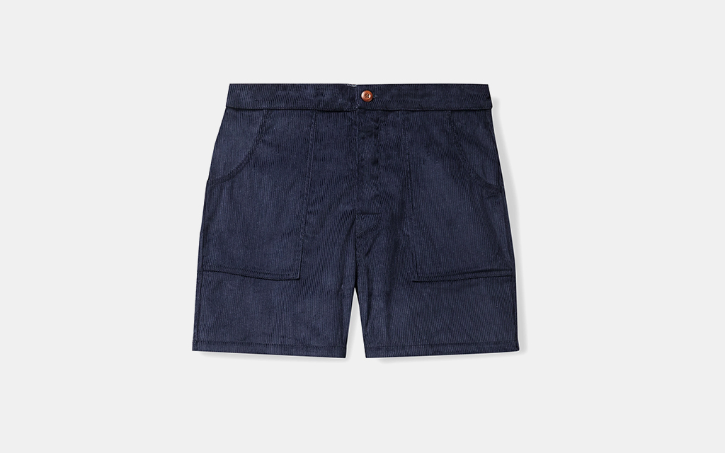 Birdwell Cotton-Corduroy Shorts