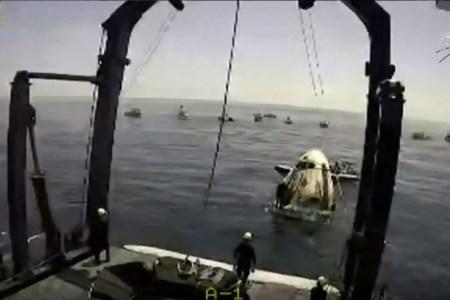 Crew Dragon retrieval