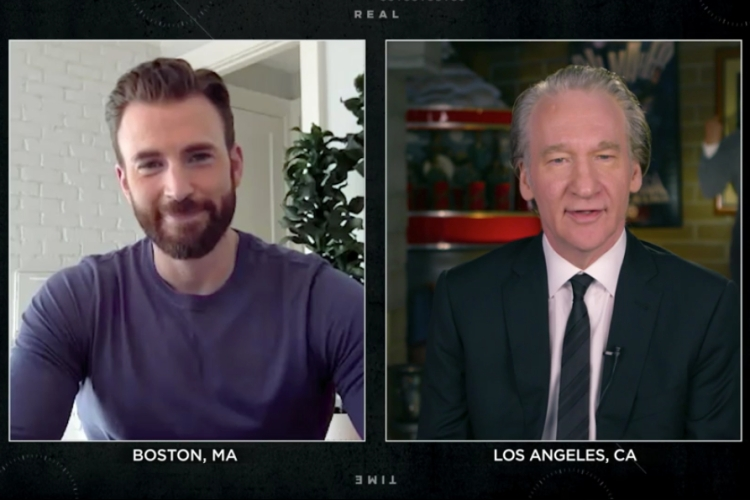 Chris Evans, Bill Maher