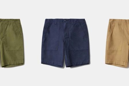 Wear Everlane's New $50 Fatigue Short All-Through August