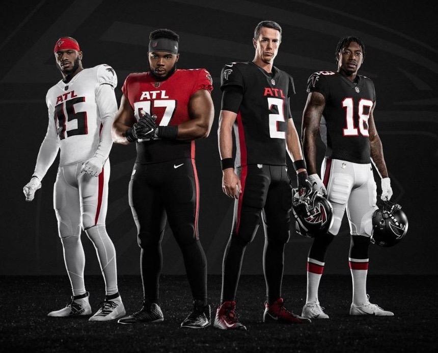 atlanta falcons uniforms 2020