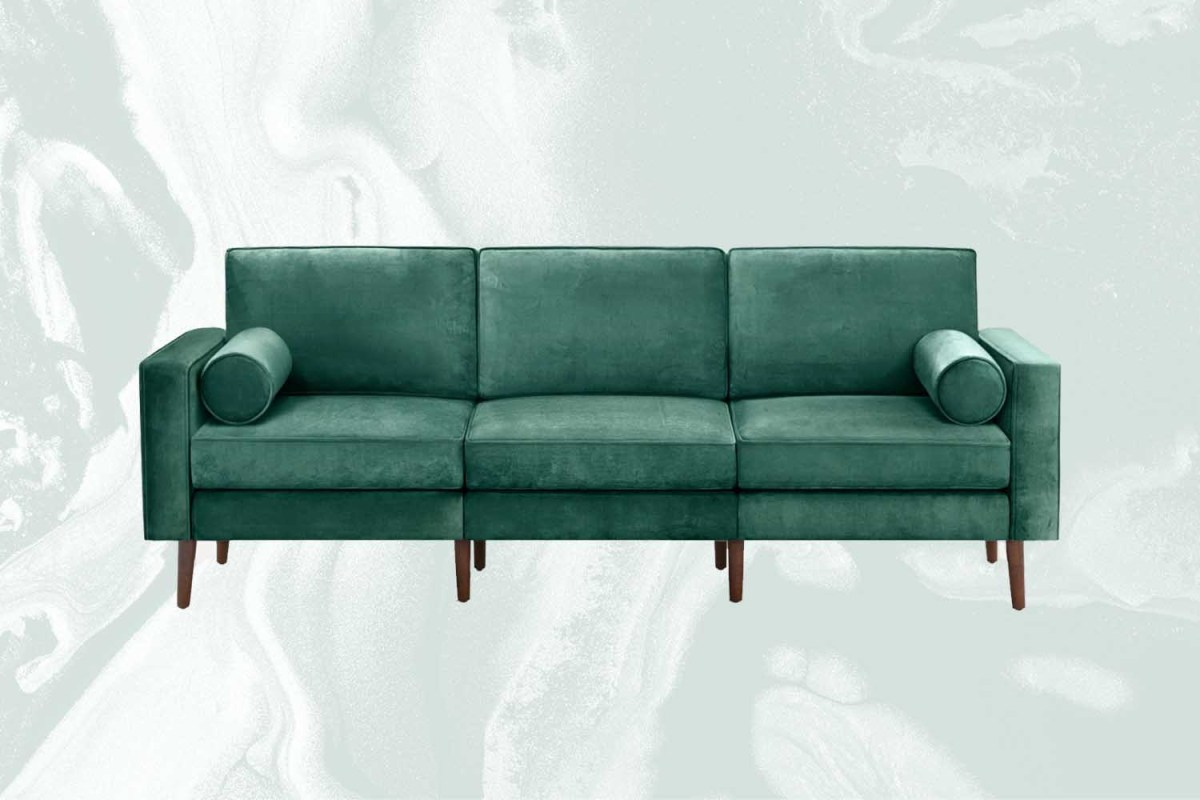 Burrow Just Launched an Incredibly Sexy Velvet Seating Collection
