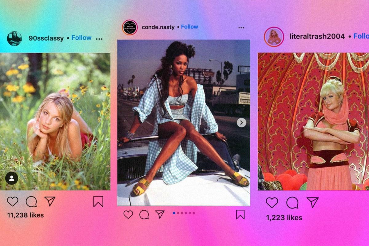 Instagram nostalgia accounts