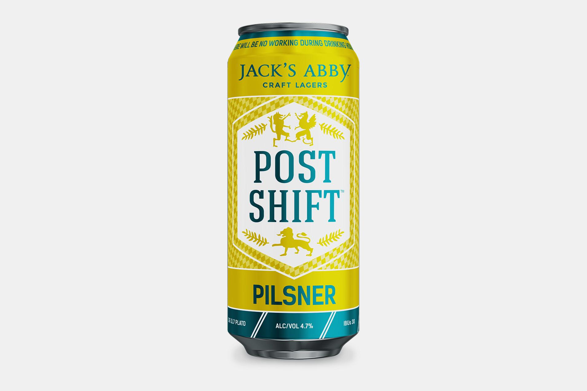 Jack's Abby Post Shift Pilsner