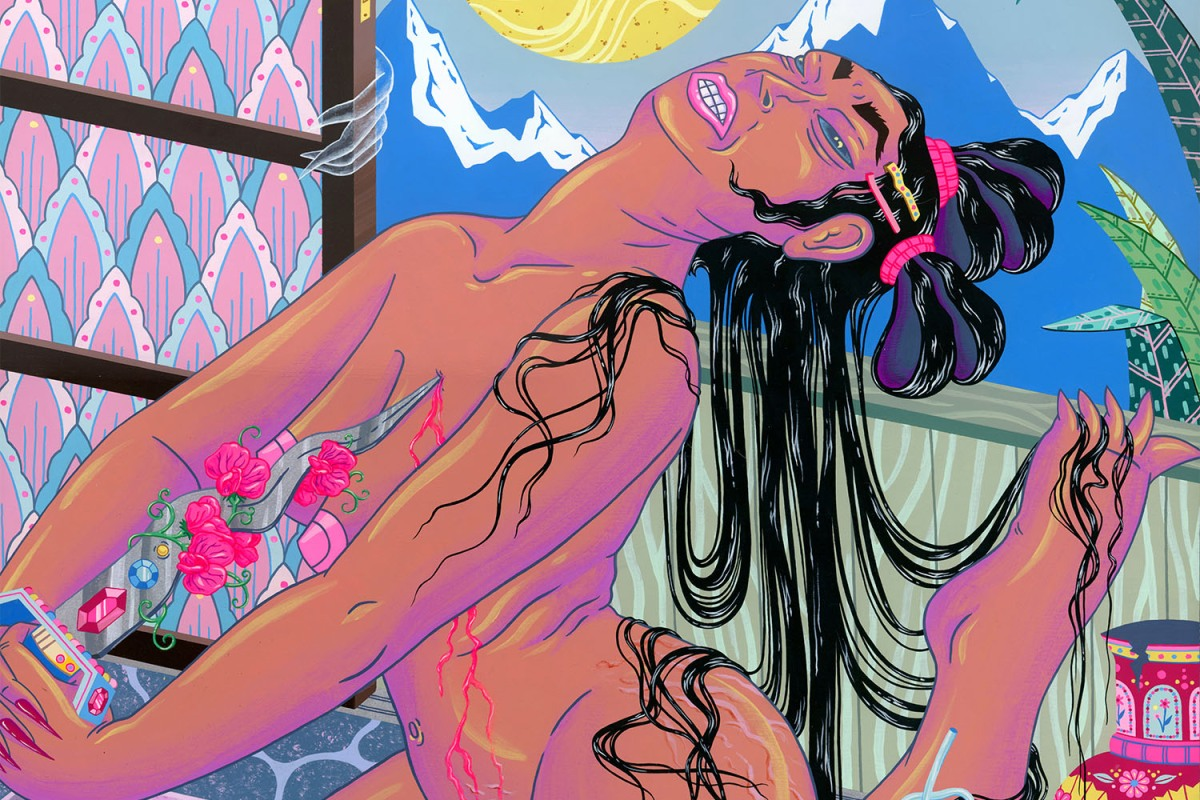 Painting kristen liu wong