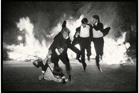 Bonfires, Ballrooms and Boris Johnson: Photos From the Last Days of the Old, Decadent Oxford