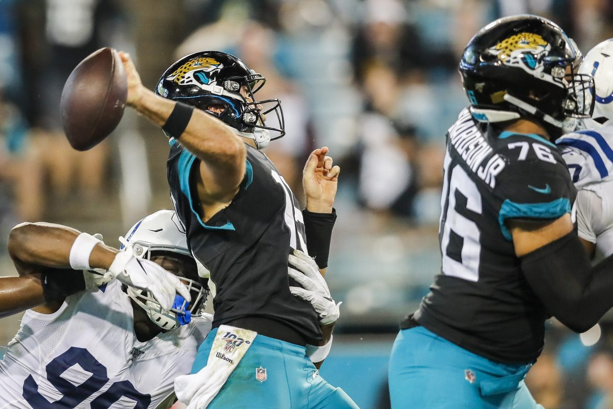 Have the Jaguars Backslid to Being the NFL's Worst Team?