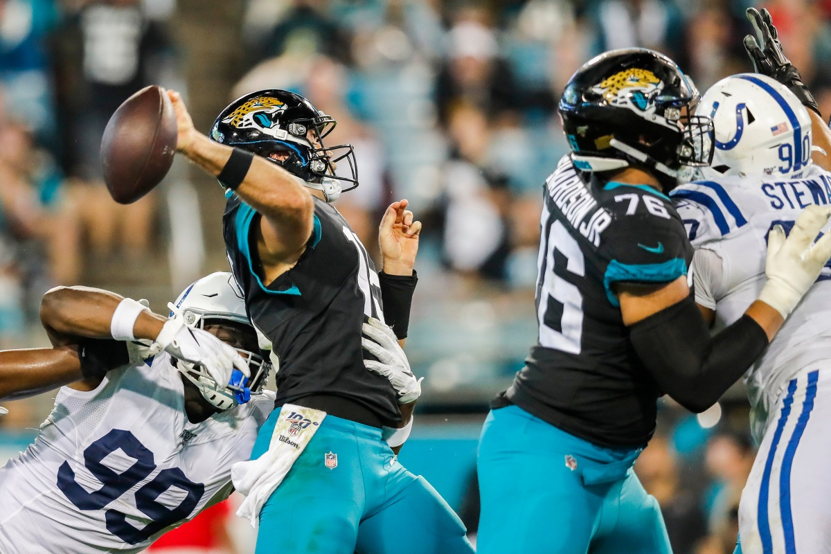 Have the Jaguars Backslid to Being the NFL's Worst Team Again?