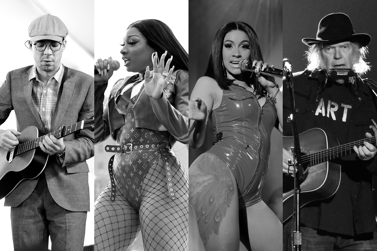 Cardi B and Megan Thee Stallion gave us the song of the summer, Neil Young took on Trump, and we sadly had to say goodbye to Justin Townes Earle.