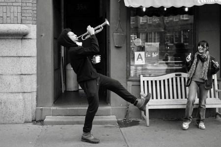 nyc street photography covid Reuben Radding