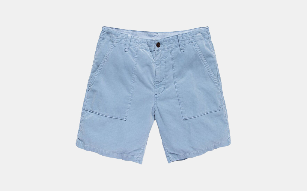 Outerknown SeventySeven Cord Utility Shorts
