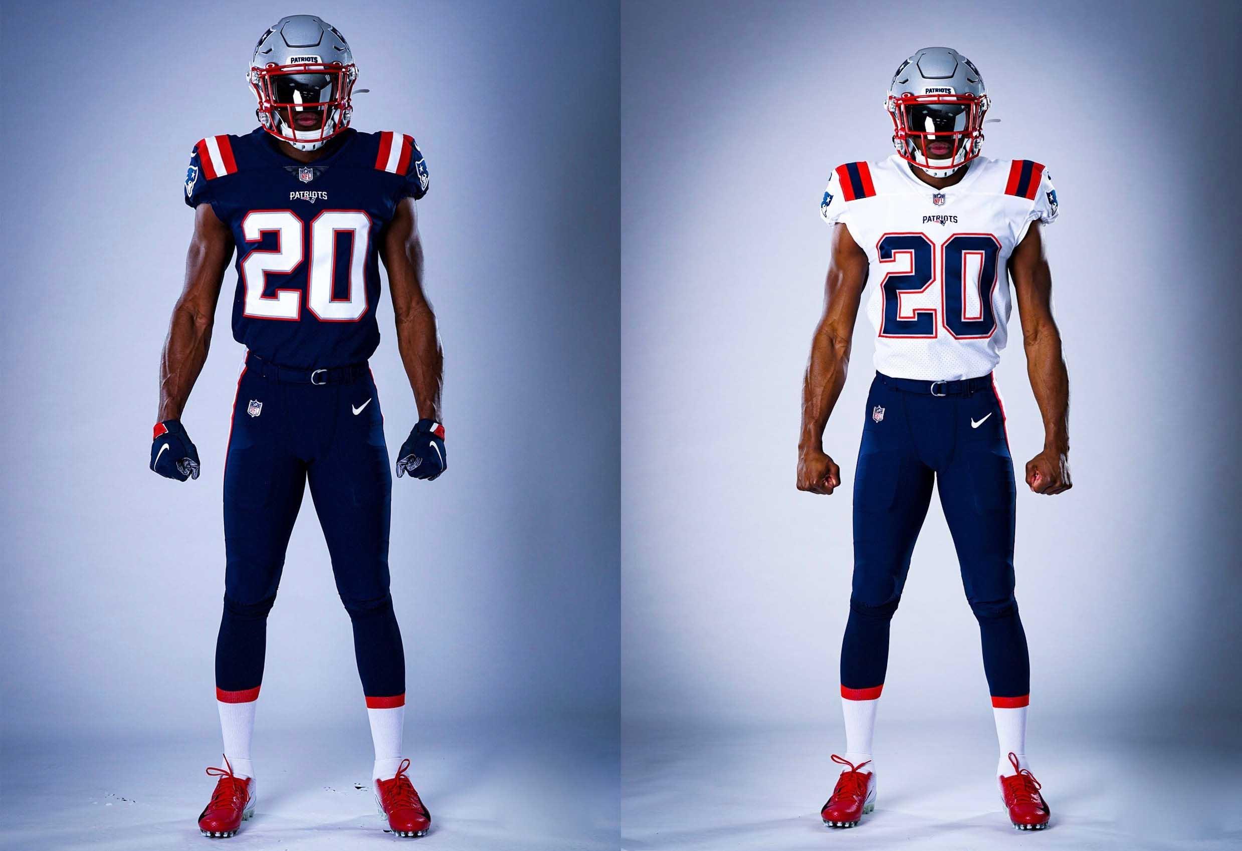new england patriots uniforms 2020