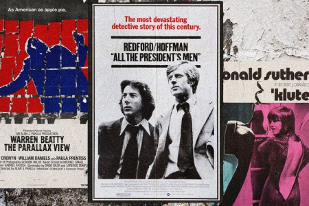 """Alan J. Pakula's 1970s """"paranoia trilogy"""" connects to 2020."""