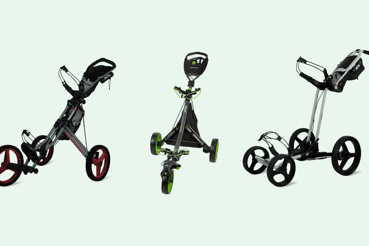Attention Golfers: These Push Carts Are in Stock for the First Time Since Quarantine Started