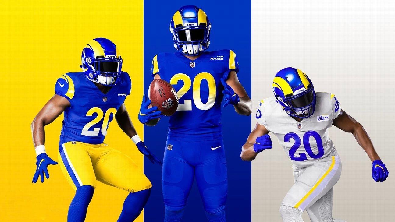 la rams uniforms 2020