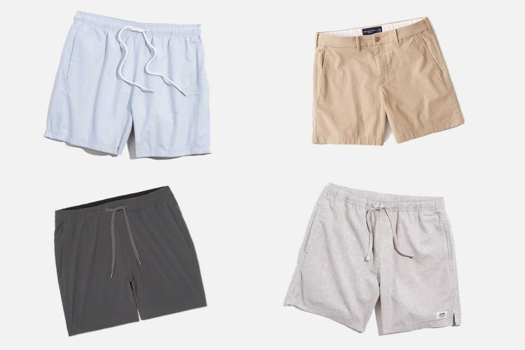 10 Pairs of Shorts, None of Them Over 5 Inches in Length
