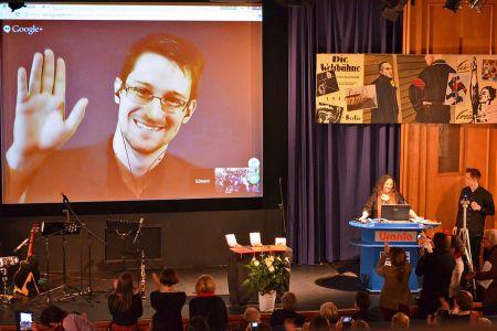 Edward Snowden in 2014