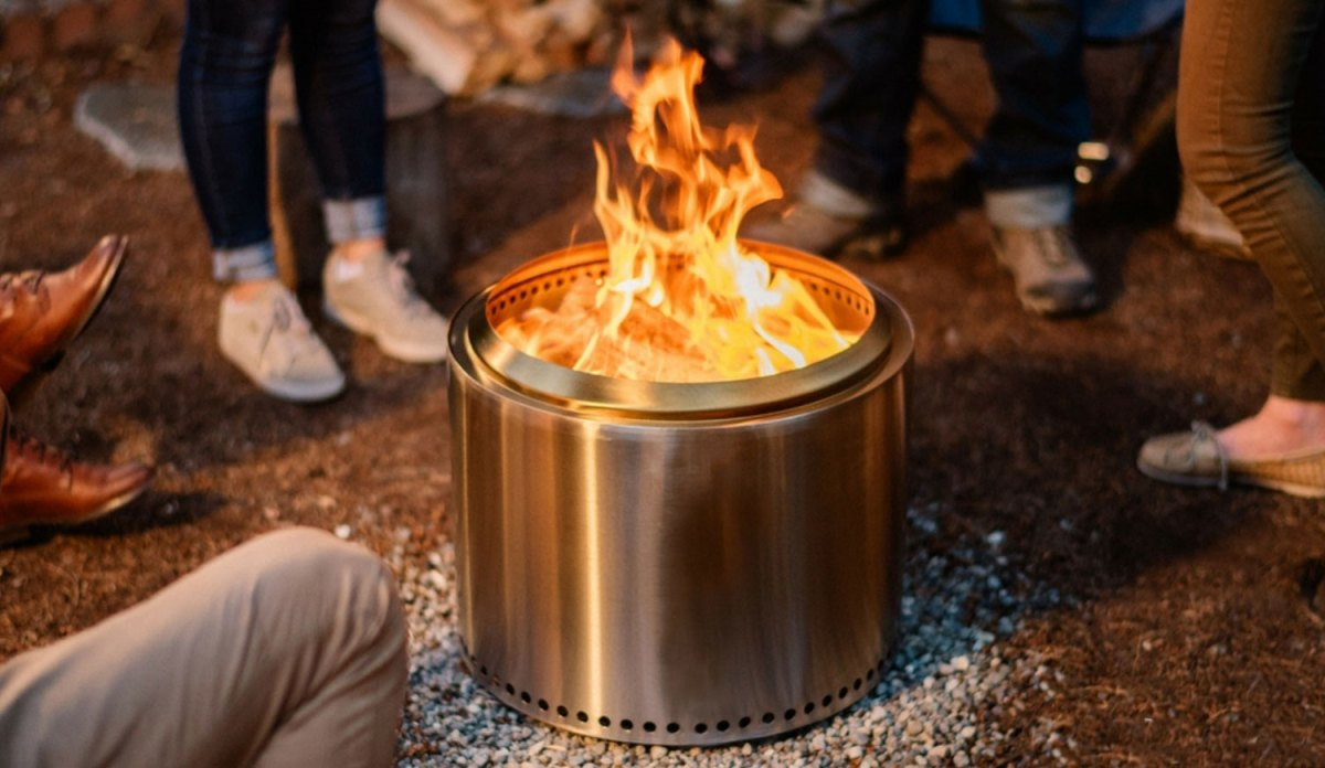 Deal: We've Been Using This Smokeless Firepit for Years. It's 25% Off Right Now.