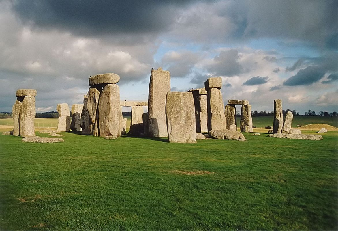 Stonehenge structure in Wiltshire, England