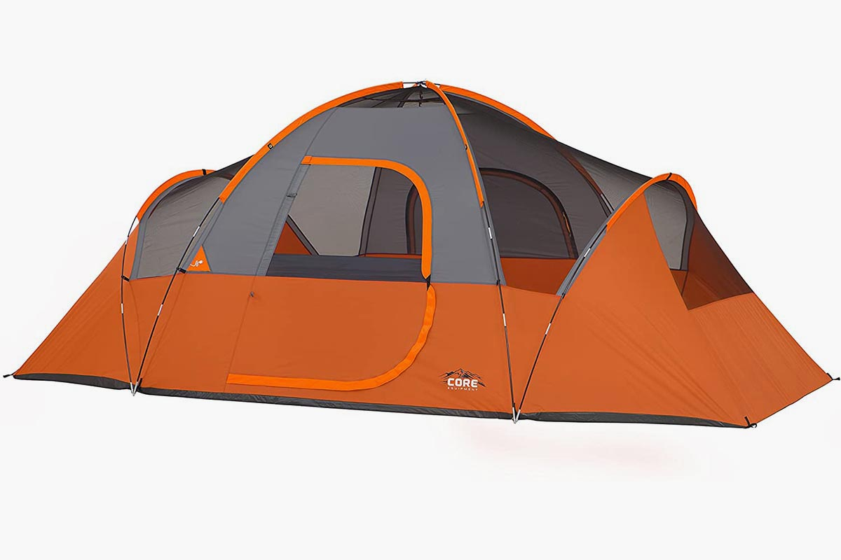Core 9-Person Extended Dome Tent