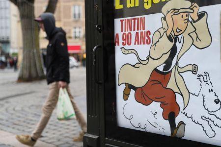 Tintin at 90