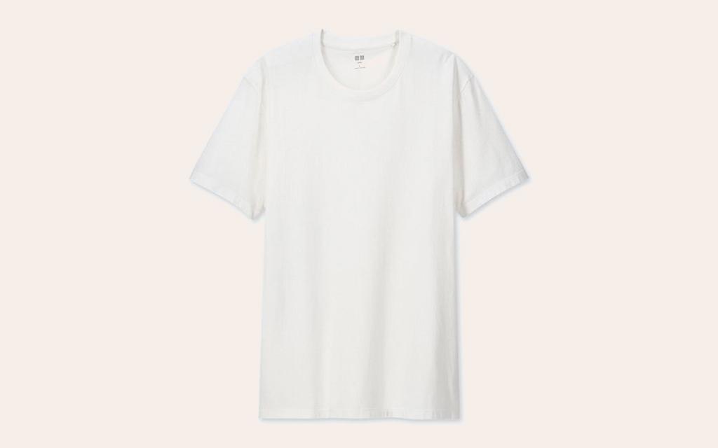 Uniqlo Men Supima Cotton Crew Neck Short-Sleeve T-Shirt