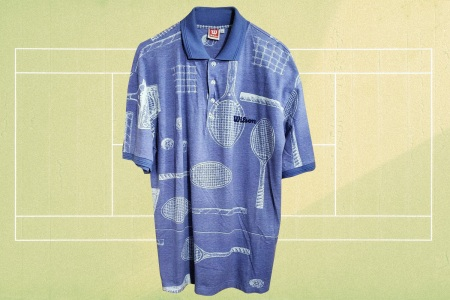 Vintage tennis shirt