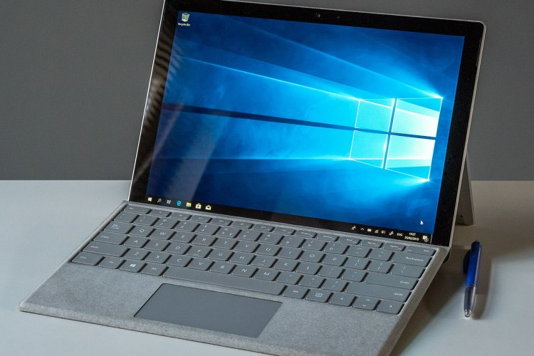 Laptop with Windows