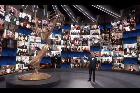 The 72nd Emmy Awards relied heavily on stable wifi connections.