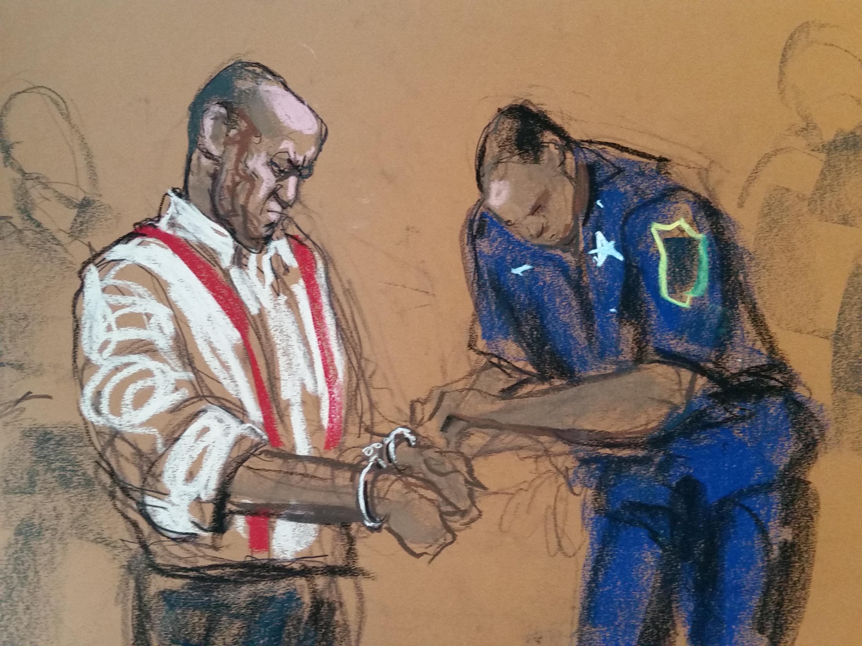 Jane Rosenberg courtroom sketch