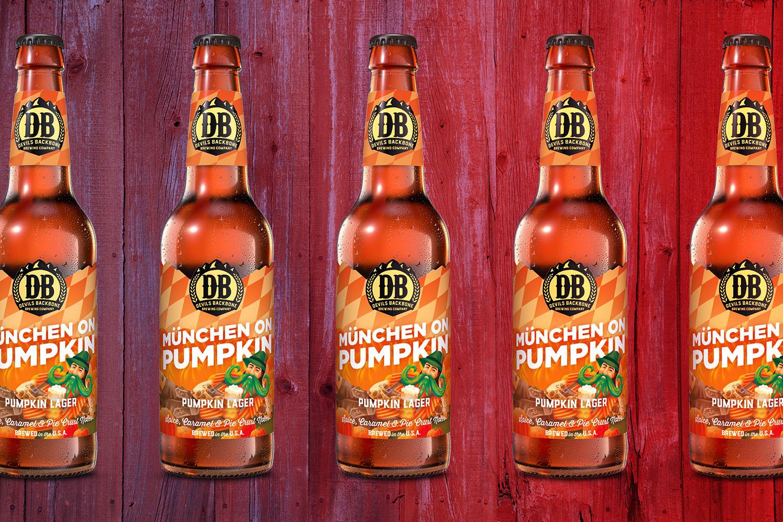 Devils Backbone Munchen on Pumpkin