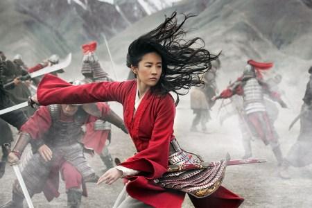 Liu Yifei as Mulan in Disney's remake of the animated movie