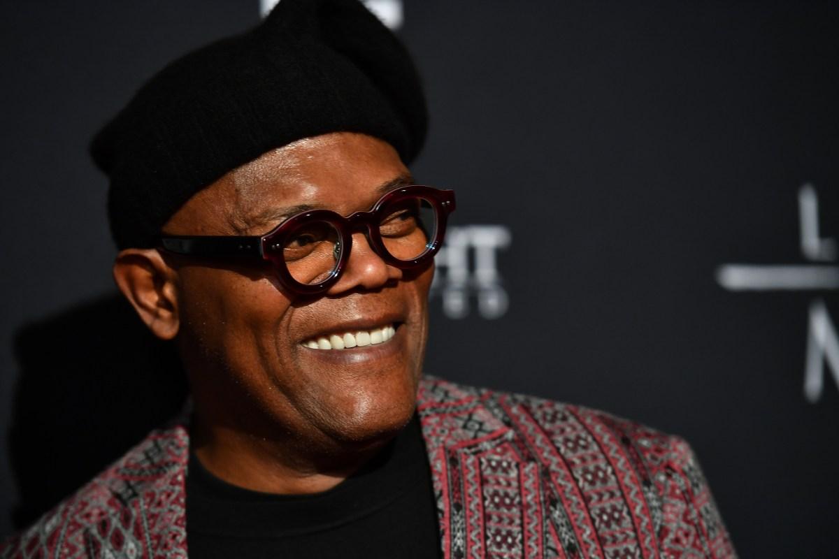 "Samuel L. Jackson attends ""The Last Full Measure"" Atlanta red carpet screening at SCADshow on January 20, 2020 in Atlanta, Georgia"