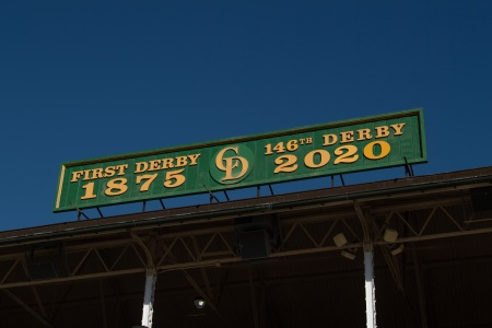 Kentucky Derby sign
