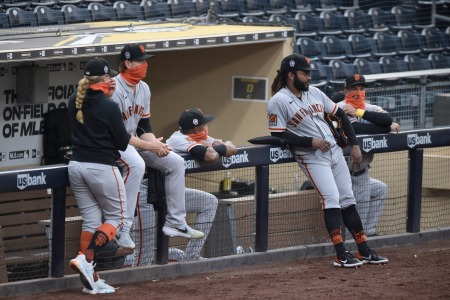 San Francisco Giants and San Diego Padres game was postponed after a positive test for COVID