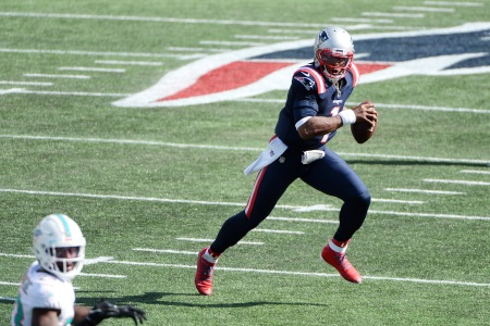 Cam Newton led the Patriots to a win in their season opener.