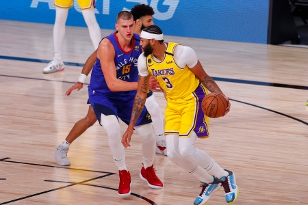 The Los Angeles Lakers defeated the Denver Nuggets 126-114 in Game One