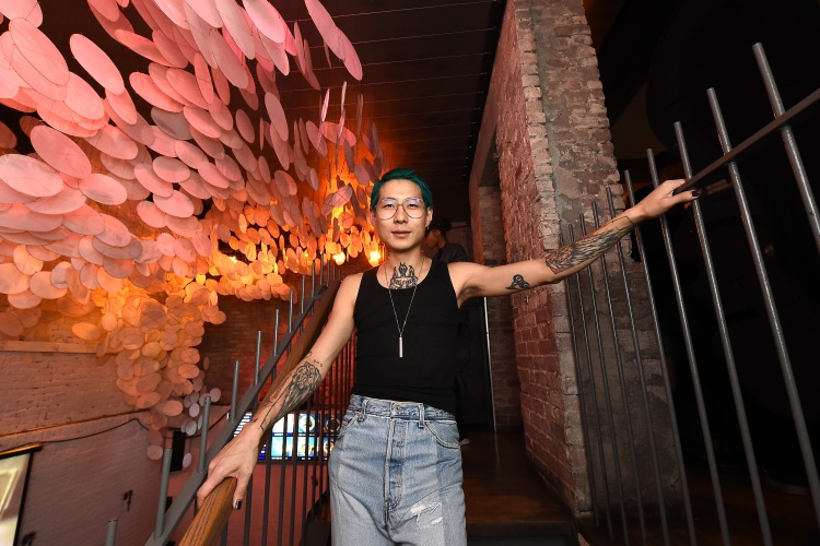 "Danny Bowien attends ""The Mind Of A Chef"" Premiere Launch Party at Mission Chinese Food on November 16, 2017 in New York City.  (Photo by Ilya S. Savenok/Getty Images for Zero Point Zero)"