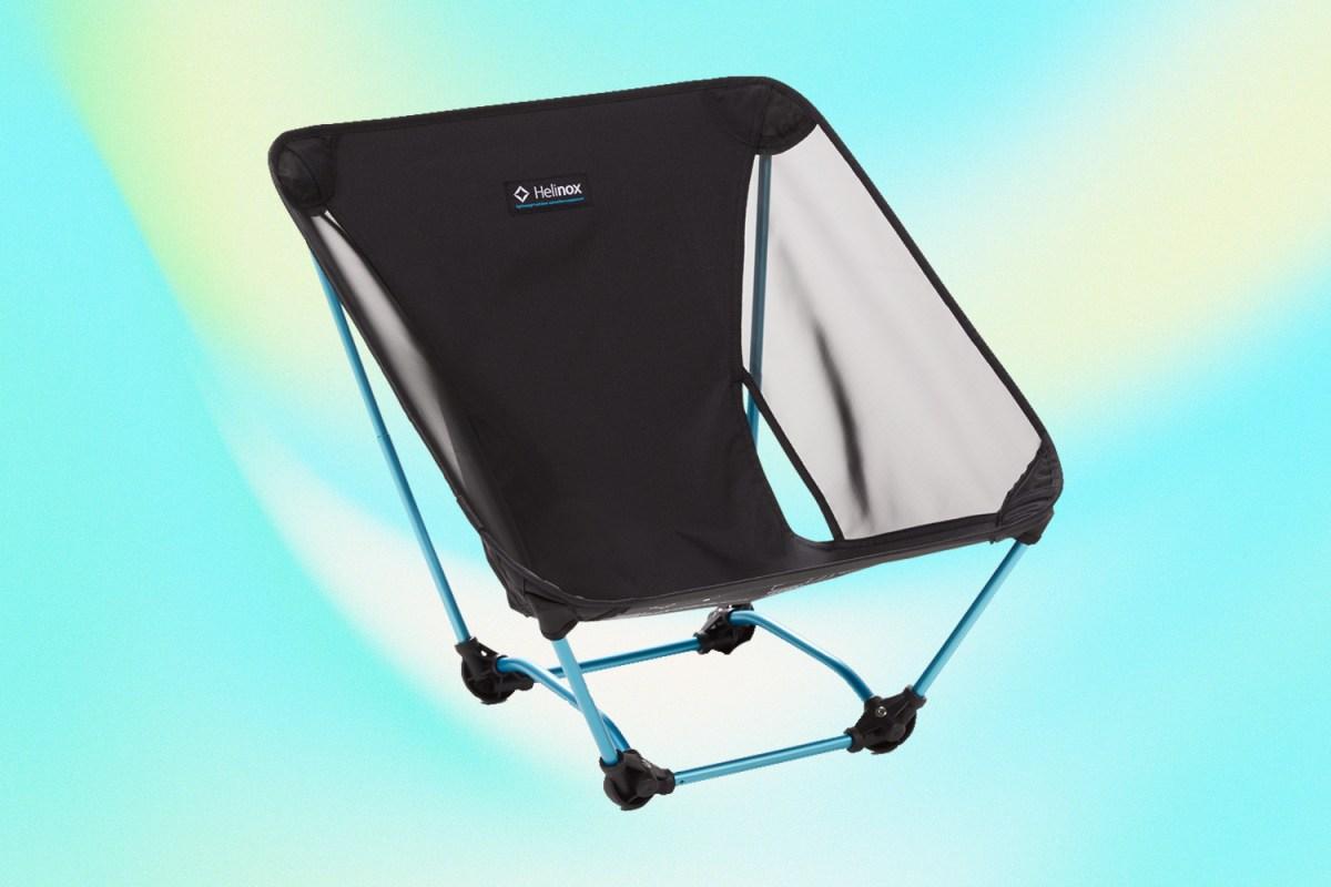 Helinox Ground Chair camp gear