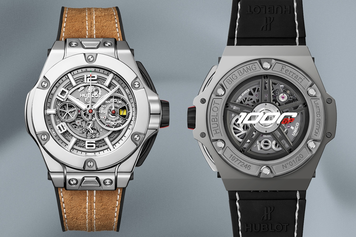 Hublot Big Bang Ferrari 1000 GP watch