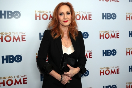 Author J.K. Rowling at HBO's 'Finding The Way Home' World Premiere